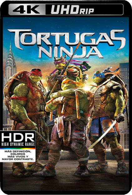 NINJA TURTLES 1 [4K UHDRIP][2160P][HDR10][AC3 5.1-CASTELLANO-INGLES AC3 5.1+SUBS][ES-EN] torrent